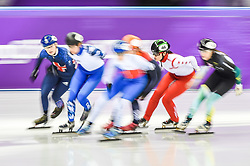 February 17, 2018 - Pyeongchang, Gangwon, South Korea - Cheyenne Goh of  Singapore competing in 1500 meter speed skating for women at Gangneung Ice Arena, Gangneung, South Korea on 17 February 2018. (Credit Image: © Ulrik Pedersen/NurPhoto via ZUMA Press)
