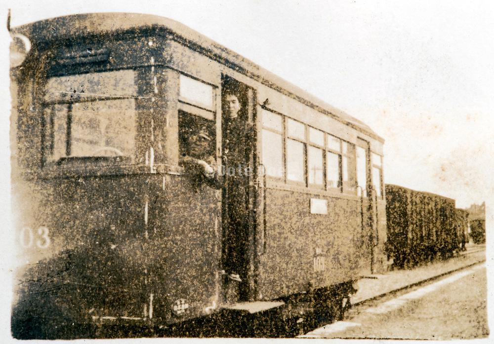 tram Japan ca 1930s