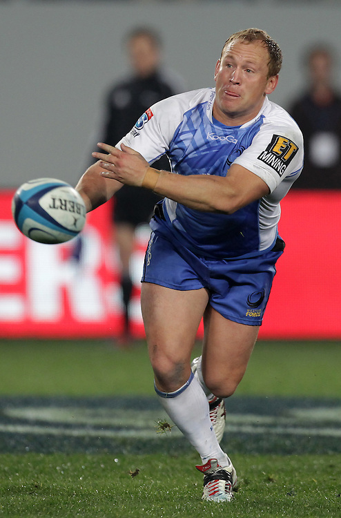 Force's Brett Sheehan in action against the Blues in a Super Rugby match, Eden Park, Auckland, New Zealand, Saturday, July 07, 2012.  Credit:SNPA / David Rowland