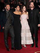 Dec 3, 2014 - Exodus: Gods And Kings World Premiere - VIP Red Carpet Arrivals at Odeon,  Leicester Square, London<br /> <br /> Pictured: Joel Edgerton, Golshifteh Farahani, Maria Valverde and Christian Bale<br /> ©Exclusivepix Media