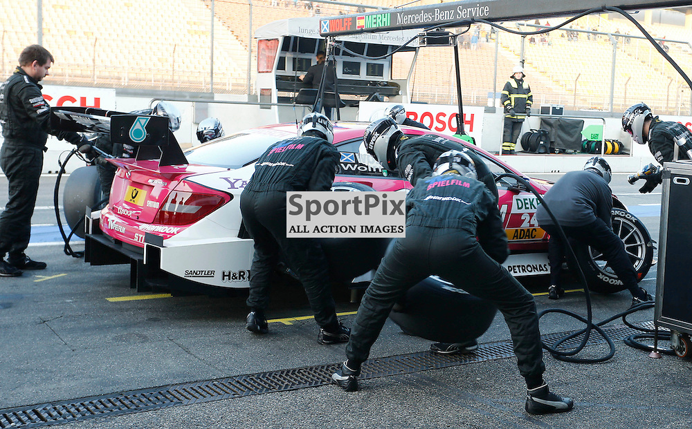 Susie Wolff at the final round of the DTM 2012 season at Hockenheim, Germany....(c) STEPHEN LAWSON | StockPix.eu