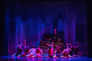 Bay Pointe Ballet performs Bruce Steivel's Dracula at the Victoria Theatre in San Francisco, California, on November 12, 2016. (Stan Olszewski/SOSKIphoto)