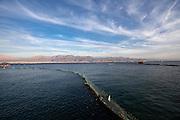 Israel, Eilat, Dolphin Reef Beach