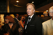 Alan Rickman, Sadler's Wells Celebrates. Benefit evening for Sadler's Wells hosted by Angela Bernstein and Alistair Spalding. The Royal Horticultural Halls. London. 25 September 2006. -DO NOT ARCHIVE-© Copyright Photograph by Dafydd Jones 66 Stockwell Park Rd. London SW9 0DA Tel 020 7733 0108 www.dafjones.com