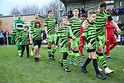 Ambassadors during the EFL Sky Bet League 2 match between Forest Green Rovers and Scunthorpe United at the New Lawn, Forest Green, United Kingdom on 7 December 2019.