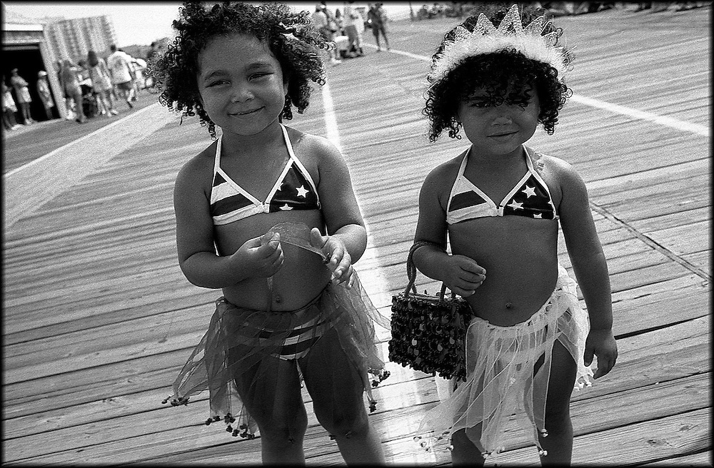 American Beauties. Baby parade, Ocean City, NJ