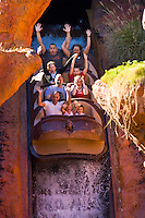 Splash Mountain ride, Disney World, Orlando, Florida USA