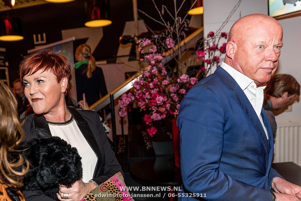 NLD/Rijswijk/20170123 - Premiere Boeing Boeing, Frits Wester en ........ volgens hem zijn buurvrouw