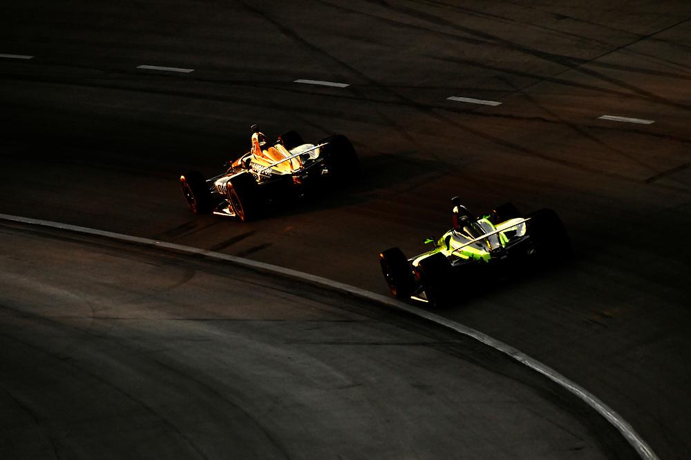 James Hinchcliffe, Schmidt Peterson Motorsports Honda, Sébastien Bourdais, Dale Coyne Racing with Vasser-Sullivan Honda
