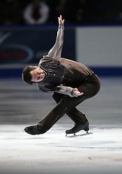 London, Ontario ---10-01-17--- Patrick Chan skates his gala performance at the 2010 BMO Canadian Figure Skating Championships in London, Ontario, January 18, 2010. .GEOFF ROBINS/Mundo Sport Images.