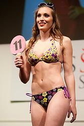 Nina Malec during event Miss Sports of Slovenia 2012, on April 21, 2012, in Festivalna dvorana, Ljubljana, Slovenia. (Photo by Urban Urbanc / Sportida.com)