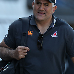 DURBAN, SOUTH AFRICA - MARCH 10: Jamie Joseph (Head Coach) of the HITO-Communications Sunwolves during the Super Rugby match between Cell C Sharks and Sunwolves at Jonsson Kings Park Stadium on March 10, 2018 in Durban, South Africa. (Photo by Steve Haag/Gallo Images)