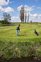 GOUDA - GOLFBAAN IJSSELWEIDE , kennismaken met golf tijdens Open Golfdag, COPYRIGHT KOEN SUYK