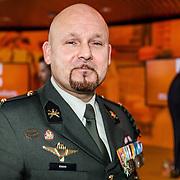 NLD/Den Haag/20170208 - Marco Kroon is een Nederlands officier met de rang van majoor bij de Koninklijke Landmacht en de eerste militair sinds 1955 die is onderscheiden met de Militaire Willems-Orde, de hoogste militaire onderscheiding van Nederland.