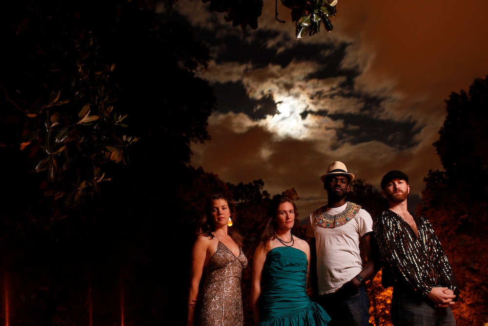 Justin Robinson and The Mary Annettes, Durham, N.C., 2010.
