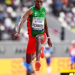 Doha, IAAF, Leichtathletik, athletics, Track and Field, World athletics Championships 2019  Doha, Leichtathletik WM 2019 Doha, 27.09-06.10.2019, .Khalifa International Stadium Doha, Pedro Pablo Picardo Portugal Dreisprung Männer Finale  , Fotocopyright Gladys Chai von  der Laage ..Photo by Icon Sport - Pedro Pablo PICHARDO - Khalifa International Stadium - Doha (Qatar)