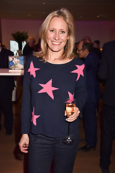 Sophie Raworth at CURE³ - private view in aid of The Cure Parkinsons Trust held at Bonhams, 101 New Bond Street, London England. 13 March 2017.