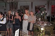 Heather Kerzner and Marie Curie Cancer Care fundraising dinner,  Claridge's. London.