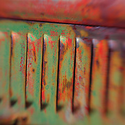Ford Vented Rusting Hood - Motor Transport Museum - Campo, CA - Lensbaby