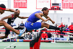 ECAC/IC4A Track and Field Indoor Championships<br /> 60 meter hurdles, Dylan Beard, Hampton