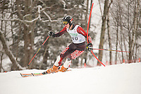 Gunstock Ski Club J1 J2 2nd Run of the Open Race at Gunstock Mountain Resort on December 31, 2009.