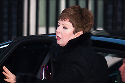 Downing Street, London, January 27th 2015. Ministers attend the weekly cabinet meeting at Downing Street. PICTURED: Leader of the House of Lords Baroness Stowell.