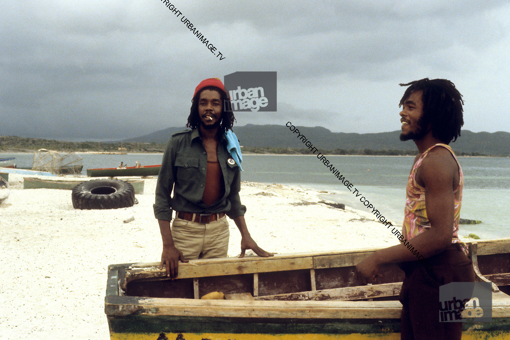Peter Tosh and Friends on Hellshire Beach near Kingston - Jamaica 1978
