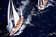 Mariella sailing in the Antigua Classic Yacht Regatta, Butterfly Race.