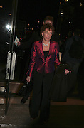 Esther Rantzen, Cirque de Soleil Premiere of Alegr'a. Royal Albert Hall. London. 5 January 2006.  -DO NOT ARCHIVE-© Copyright Photograph by Dafydd Jones. 248 Clapham Rd. London SW9 0PZ. Tel 0207 820 0771. www.dafjones.com.