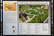 War memorial and bombed buildings, Karlovac, Croatia