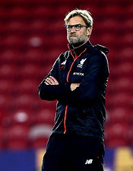 Liverpool manager Jurgen Klopp - Mandatory by-line: Robbie Stephenson/JMP - 14/12/2016 - FOOTBALL - Riverside Stadium - Middlesbrough, England - Middlesbrough v Liverpool - Premier League
