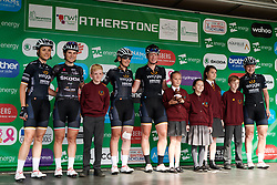 Wiggle High5 sign on at OVO Energy Women's Tour 2018 - Stage 3, a 151 km road race from Atherstone to Leamington Spa, United Kingdom on June 15, 2018. Photo by Sean Robinson/velofocus.com