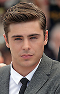 """Cannes,24.05.2012: ZAC EFRON.at """"The Paperboy""""  photocall, 65th Cannes International Film Festival..Mandatory Credit Photos: ©Traverso-Photofile/NEWSPIX INTERNATIONAL..**ALL FEES PAYABLE TO: """"NEWSPIX INTERNATIONAL""""**..PHOTO CREDIT MANDATORY!!: NEWSPIX INTERNATIONAL(Failure to credit will incur a surcharge of 100% of reproduction fees)..IMMEDIATE CONFIRMATION OF USAGE REQUIRED:.Newspix International, 31 Chinnery Hill, Bishop's Stortford, ENGLAND CM23 3PS.Tel:+441279 324672  ; Fax: +441279656877.Mobile:  0777568 1153.e-mail: info@newspixinternational.co.uk"""