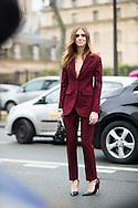 Chiara Ferragni at Dior Couture SS2015