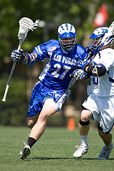 06 May 2007: Air Force Falcons midfielder Kyle O'Neill during a 19-6 loss to the Duke Blue Devils at Koskinen Stadium in Durham, NC.