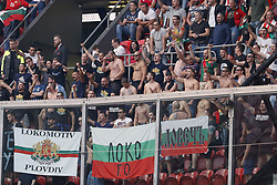 fans of Bulgaria during the FIFA World Cup 2018 qualifying match between The Netherlands and Bulgariaat the Amsterdam Arena on September 03, 2017 in Amsterdam, The Netherlands