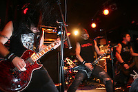 Bullet for My Valentine performing at The Knitting Factory on November 28, 2005. .Photo Credit; Rahav/Photopass.com..Please note: These images have been licensed only for web use and press. All other usage is restricted without permission. Contact the studio at 212 475 6384 to secure additional licensing or email rahav@photopass.com.©2005 Rahav/Photopass.com. All rights reserved.