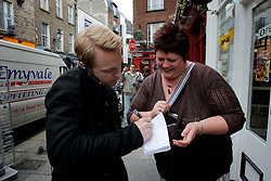 IRELAND DUBLIN 9MAY06 - Singer Ronan Keating (29) signs an autograph while walking in Temple Bar  in his native Dublin. The popstar emerged on the international scene in 1994 with the band Boyzone and has since gone solo and is about to release his new album 'Bring You Home' in June this year...jre/Photo by Jiri Rezac..© Jiri Rezac 2006..Contact: +44 (0) 7050 110 417.Mobile:  +44 (0) 7801 337 683.Office:  +44 (0) 20 8968 9635..Email:   jiri@jirirezac.com.Web:    www.jirirezac.com..© All images Jiri Rezac 2006 - All rights reserved.