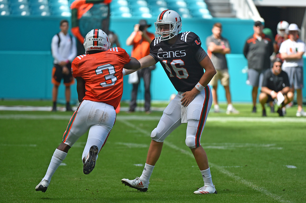 2017 Miami Hurricanes Football Canesfest Scrimmage