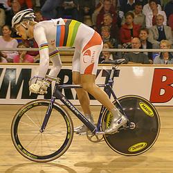 ALKMAAR (NED) wielrennen<br />NK Baanwielrennen ; mannen 2004; Theo Bos
