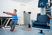 Anita Wlodarczyk while her training session at Institute of Sport in Warsaw.<br /> Anita Wlodarczyk is a Polish hammer thrower and a former world record holder with 78.30 m.<br /> <br /> Poland, Warsaw, January 29, 2014<br /> <br /> Picture also available in RAW (NEF) or TIFF format on special request.<br /> <br /> For editorial use only. Any commercial or promotional use requires permission.<br /> <br /> Mandatory credit:<br /> Photo by &copy; Adam Nurkiewicz / Mediasport