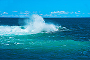 Waves in Atlantic Ocean, Peggy's Cove, Nova Scotia, Canada