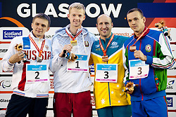 MAKAROV Roman, BOKI Ihar, ANTALFY Timothy, SALEI Dzmitry Loban Lw12 RUS, BLR, AUS, AZE at 2015 IPC Swimming World Championships -  Men's 100m Butterfly S13
