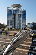 Israel, Tel Aviv, High rise buildings in the business centre