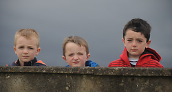 Ballyglass Boys keeping an eye on their team as they took on Manulla in the Mayo Superleague.<br />