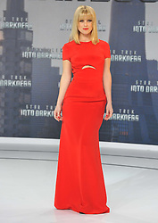 Alice Eve during the premiere for the movie Star Trek Into Darkness, China Club, Berlin, Germany, on April 29, 2013, April 30, 2013. Photo by: Schneider-Press / i-Images. .UK & USA ONLY.