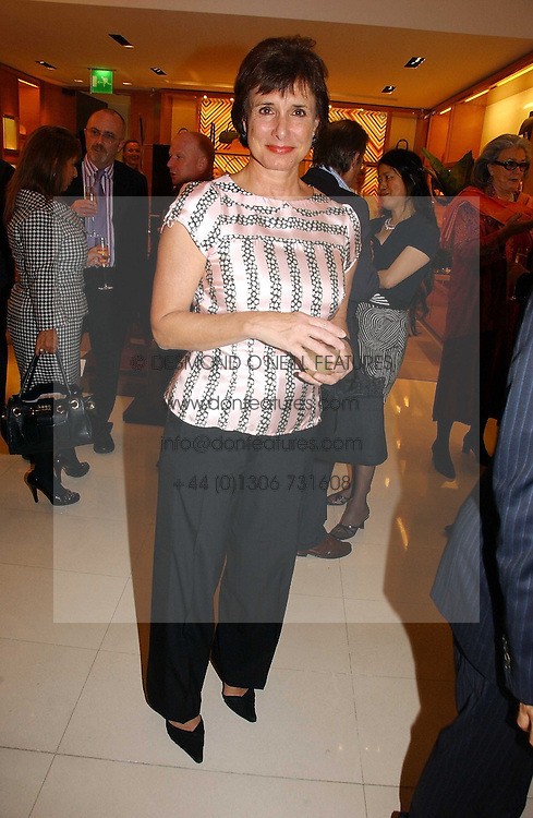 LADY BOOTHBY at a party to celebrate the publication of 'Made for Maharajas' by Dr Amin Jaffer hosted by Louis Vuitton at their store on Sloane Street, London on 10th October 2006.<br />