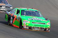 Nov. 12 2011; Avondale, AZ, USA; NASCAR Nationwide Series driver Danica Patrick (7) races during the Wypall 200 at Phoenix International Raceway. Mandatory Credit: Jennifer Stewart-US PRESSWIRE