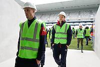 Nicolas Pallois - 23.03.2015 - Visite du Stade de Bordeaux -<br /> Photo : Caroline Blumberg / Icon Sport *** Local Caption ***
