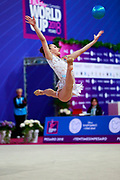 Filiorianu Ana Luiza was born in July 10, 1999 in Bucharest. She is a very good Romanian individual rhythmic gymnast.